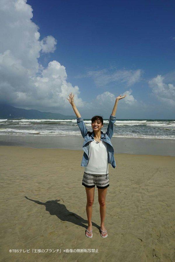 新川優愛が今人気急上昇中のベトナムのビーチリゾートを取材