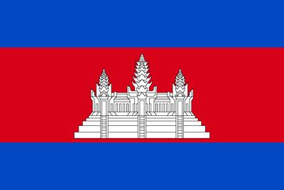 アンコール・ワット遺跡のあるカンボジアの国旗の意味と由来は?