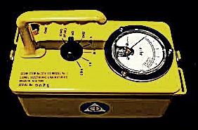 ガイガーカウンターは五感では感じない放射線を検出できる