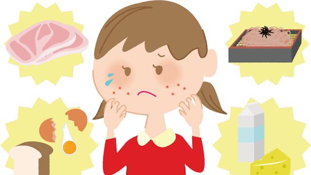 大人でも突然発症し死に至ることもある怖い食物アレルギーの原因や症状!